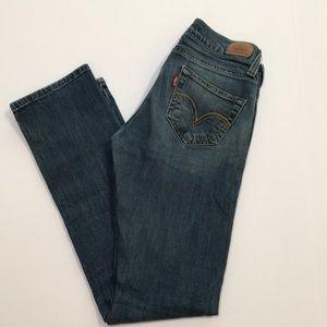 Levi's Tilted 504 denim blue jeans size M